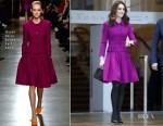 Fashion Blogger Catherine Kallon features Catherine, Duchess of Cambridge In Oscar de la Renta - Royal Opera House Visit