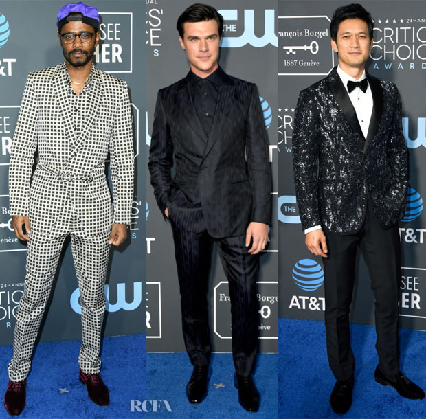 2019 Critics' Choice Awards Menswear