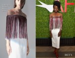 Fashion Blogger Catherine Kallon features Danai Gurira In Gabriela Hearst - 2019 AFI Awards