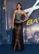 Fashion Blogger Catherine Kallon Features Dua Lipa In Armani Prive - 'Alita Battle Angel' World Premiere