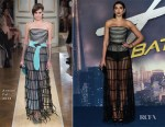 Fashion Blogger Catherine Kallon Features Dua Lipa In Armani Prive - 'Alita Battle Angel' World Premiere