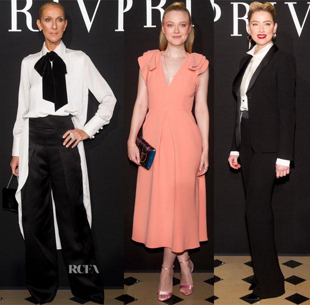 Fashion Blogger Catherine Kallon features Front Row @ Armani Prive Spring 2019