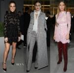 Fashion Blogger Catherine Kallon features Front Row @ Giambattista Valli Spring 2019 Haute Couture
