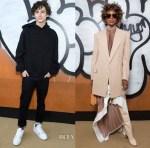 Fashion Blogger Catherine Kallon features Front Row @ Louis Vuitton Fall 2019 Menswear