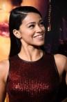 Fashion Blogger Catherine Kallon features Gina Rodriguez In Star by Julien Macdonald - 'Miss Bala' LA Premiere