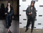 Fashion Blogger Catherine Kallon features Kiki Layne In Gucci - HBO Film 'Native Son' Dinner