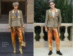 Fashion Blogger Catherine Kallon features Kristen Stewart In Chanel - Front Row @ Chanel Spring 2019 Haute Couture