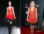 Fashion Blogger Catherine Kallon features Lucy Hale In Georges Chakra Couture - 'The Unicorn' LA Premiere