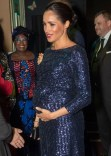 Fashion Blogger Catherine Kallon features Meghan, Duchess of Sussex In Roland Mouret - The Cirque du Soleil Premiere Of 'TOTEM'