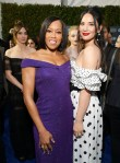 Fashion Blogger Catherine Kallon features Olivia Munn In Andrew Gn - 2019 Critics' Choice Awards