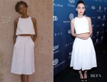 Fashion Blogger Catherine Kallon features Rooney Mara In Hiraeth - Art Of Elysium 'Heaven' Gala