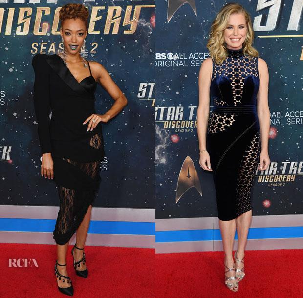 Fashion Blogger Catherine Kallon features 'Star Trek: Discovery' Season 2 Premiere