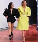 Fashion Blogger Catherine Kallon features Vanessa Hudgens In Philosophy di Lorenzo Serafini & Jennifer Lopez In Maticevski - Un Nuevo Dia