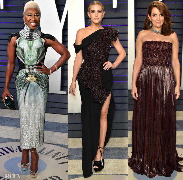 2019 Vanity Fair Oscar Party Red Carpet Roundup3