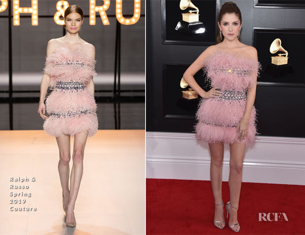 Fashion Blogger Catherine Kallon features Anna Kendrick In Ralph & Russo Couture - 2019 Grammy Awards