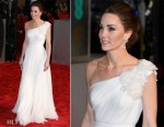 Fashion Blogger Catherine Kallon features Catherine, Duchess of Cambridge In Alexander McQueen - 2019 BAFTAs
