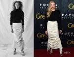 Chloe Grace Moretz In A.W.A.K.E. MODE - Greta' LA Premiere