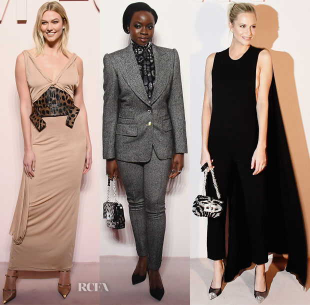 Fashion Blogger Catherine Kallon features Front Row @ Tom Ford Fall 2019