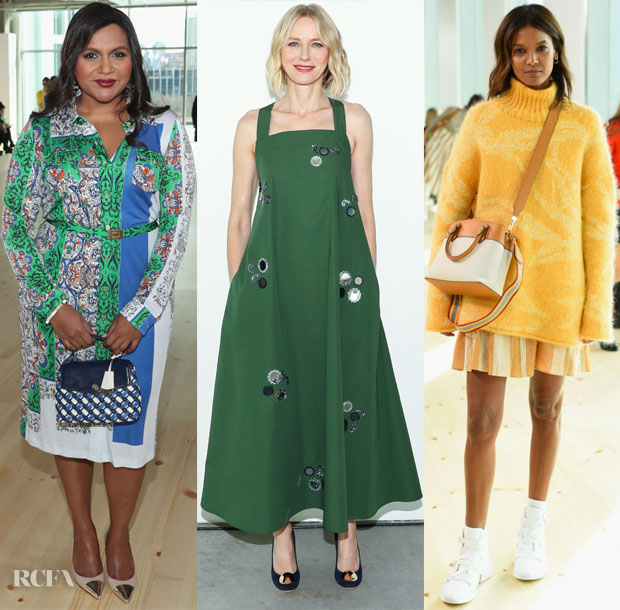 Fashion Blogger Catherine Kallon features Front Row @ Tory Burch Fall 2019