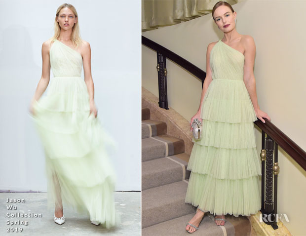 Fashion Blogger Catherine Kallon features Kate Bosworth In Jason Wu Collection - Learning Lab Ventures 2019 Gala