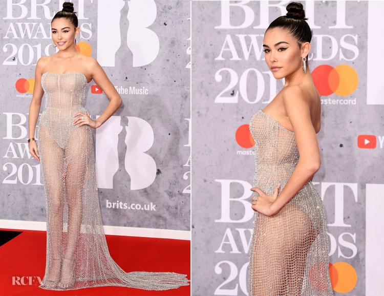 Fashion Blogger Catherine Kallon features Madison Beer In Ralph & Russo Couture - The BRIT Awards 2019