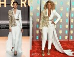 Fashion Blogger Catherine Kallon features Mary J. Blige In Ralph & Russo Couture - 2019 BAFTAs