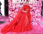 Fashion Blogger Catherine Kallon features Miley Cyrus In Valentino - 'Isn't it Romantic' LA Premiere