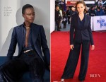 Fashion Blogger Catherine Kallon features Rebecca Ferguson In Ralph Lauren & Safiyaa - 'The Kid Who Would Be King' Gala Screening & Photocall