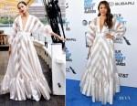Fashion Blogger Catherine Kallon features Regina Hall In Lela Rose - 2019 Film Independent Spirit Awards