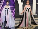 Selma Blair In Ralph & Russo Couture - 2019 Vanity Fair Oscar Party