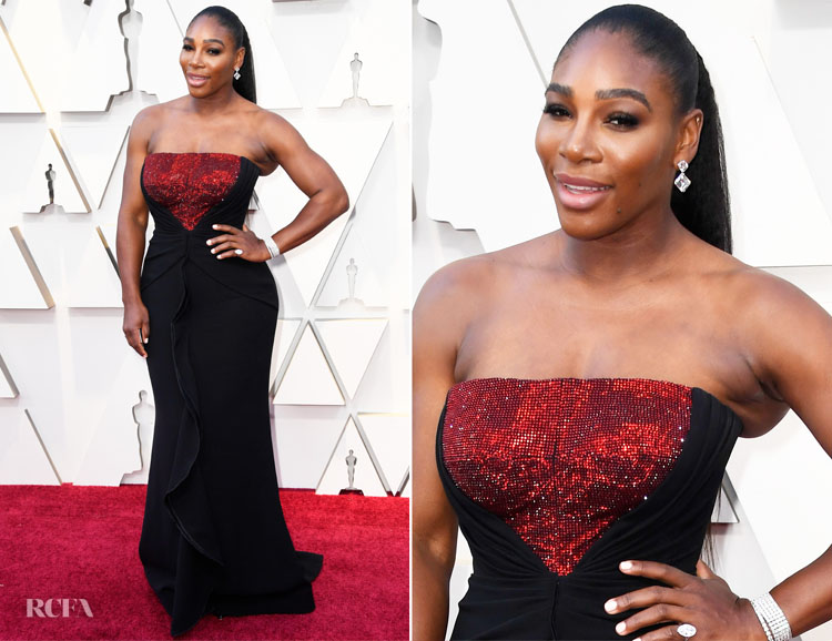Serena Williams In Armani Prive - 2019 Oscars