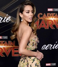 Chloe Bennet In Galia Lahav - 'Captain Marvel' LA Premiere