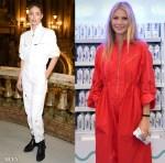 Doutzen Kroes & Gwyneth Paltrow Kick Off The Spring 2019 Boiler Suit Trend