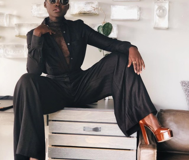 Lupita Nyongo Was Looking Like A Hot Chocolate Snack On Instagram