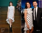 Mandy Moore In Andrew Gn - Jimmy Kimmel Live!