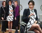 Meghan, Duchess of Sussex In Reiss - International Women's Day Panel Discussion
