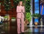 Olivia Wilde In Bella Freud - The Ellen DeGeneres Show