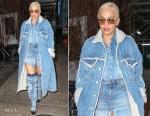 Rita Ora's Denim On Denim On Denim Diesel Outfit
