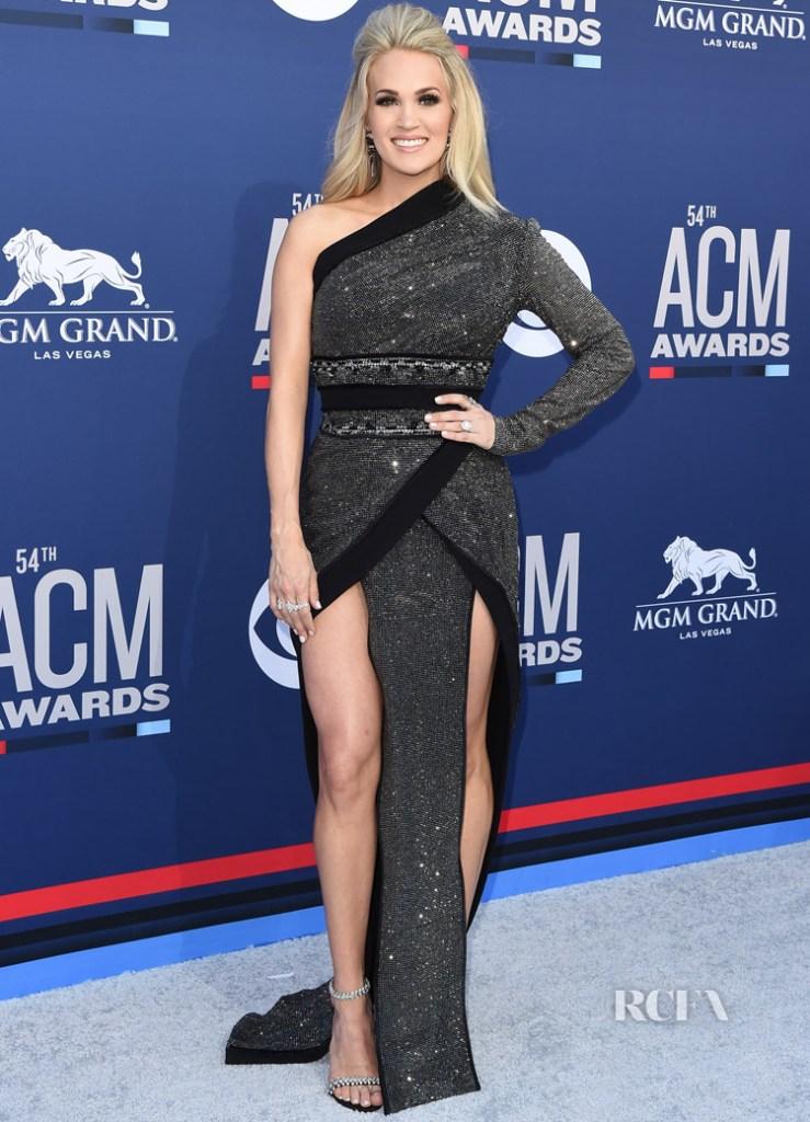 Carrie Underwood In Nicolas Jebran -  2019 ACM Awards