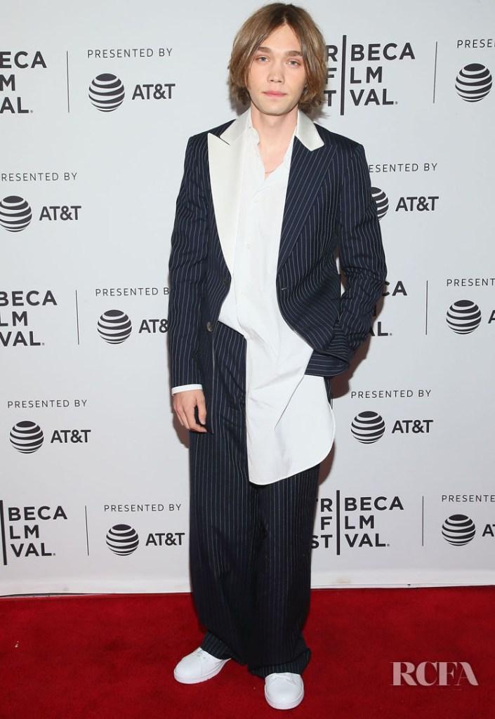Charlie Plummer In Loewe - 'Gully' Tribeca Film Festival Premiere