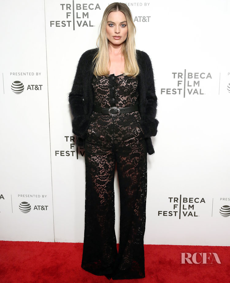 Margot Robbie In Chanel -  'Dreamland' Tribeca Film Festival Screening