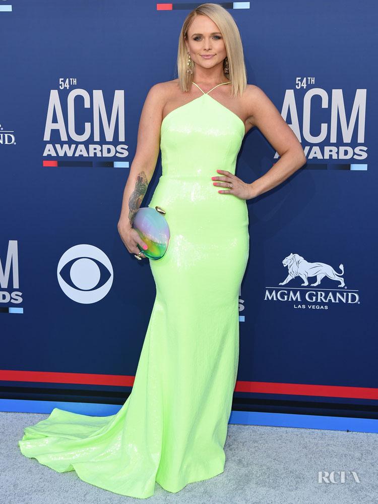 Miranda Lambert Shines Bright In NeonAt The 2019 ACM Awards