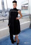 Nathalie Emmanuel Was A Women In Black For The 'Game Of Thrones' Season 8 Belfast Premiere