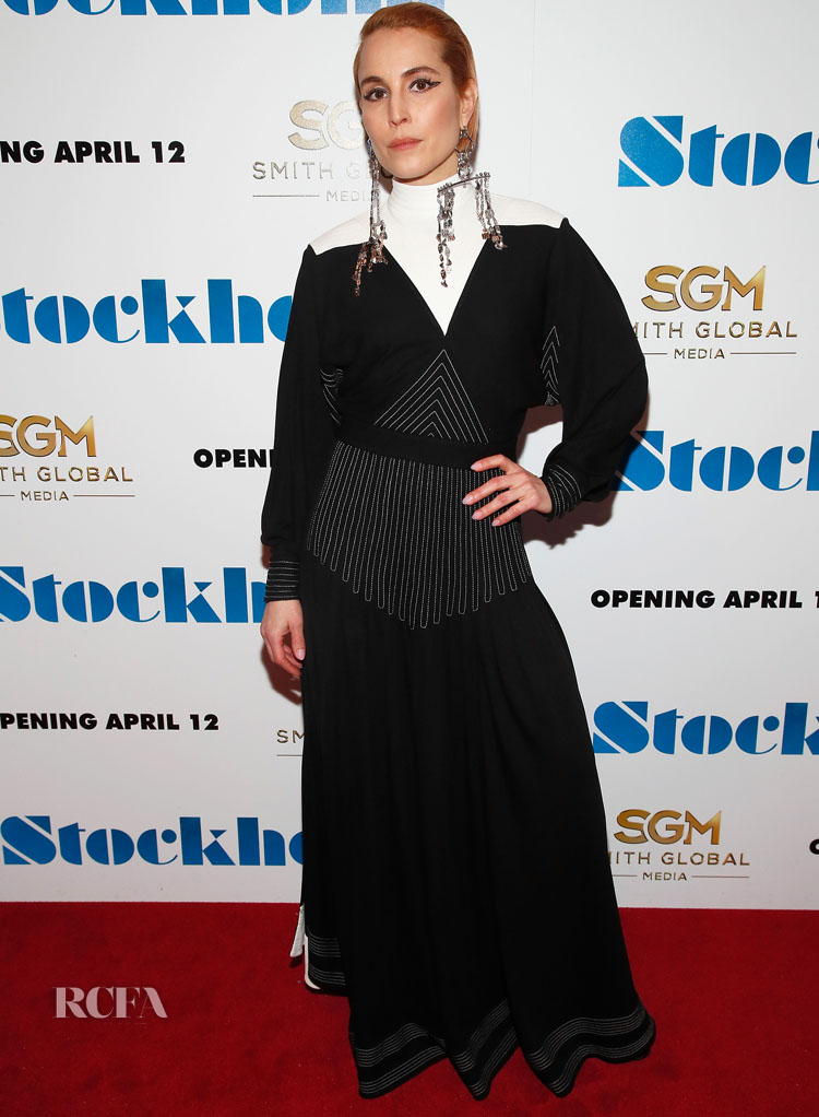 Noomi Rapace in Givenchy 'Stockholm' New York Premiere