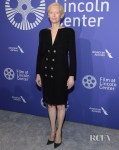 Tilda Swinton Wears Chanel To The Film Society Of Lincoln Center's 50th Anniversary Gala
