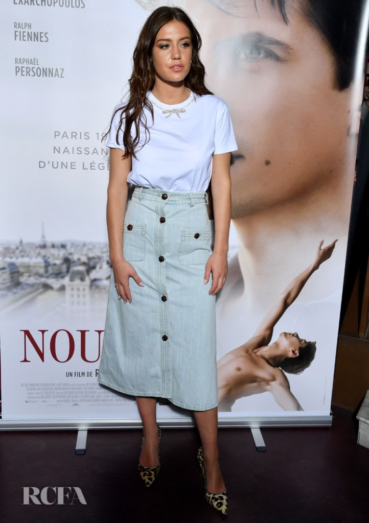 Adele Exarchopoulos Goes Back to Basis The 'Noureev-The White Crow' Paris Premiere