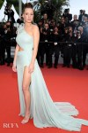 Adele Exarchopoulos In Elie Saab & Miu Miu - 'Sibyl' Cannes Film Festival Premiere & Photocall