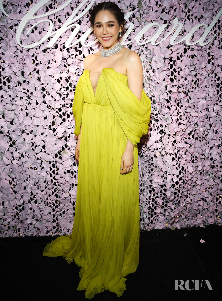 Araya A. Hargate In Giambattista Valli Haute Couture - 'Love Night' Chopard Gala
