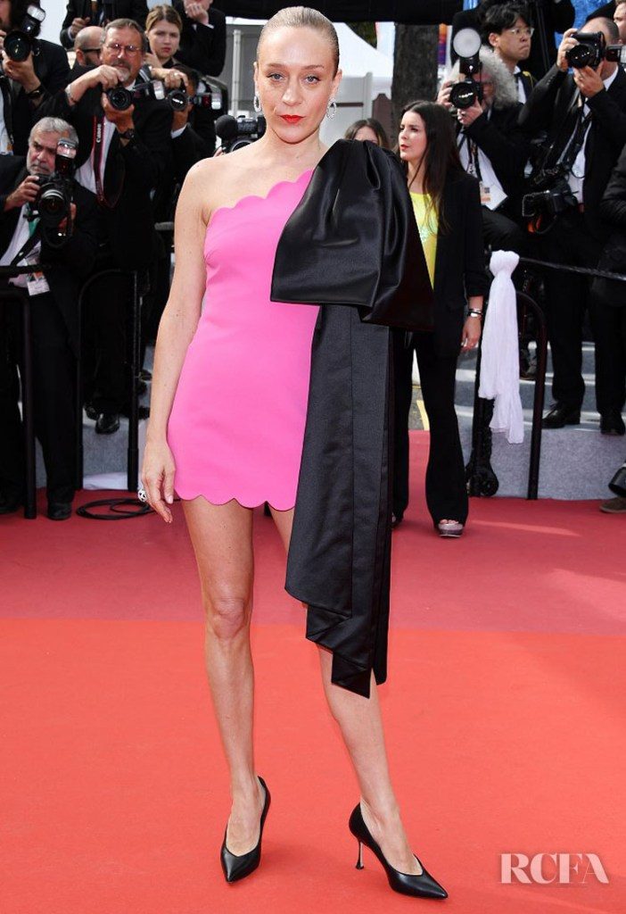 Chloe Sevigny In Miu Miu - 'Once Upon a Time In Hollywood' Cannes Film Festival Premiere