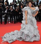Huma Qureshi In Gaurav Gupta Couture - 'A Hidden Life' Cannes Film Festival Premiere